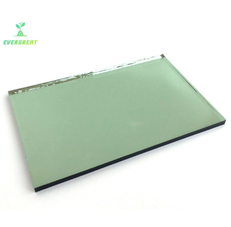 Light Green Reflective Glass